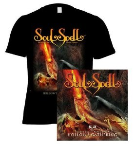 KIT CD + CAMISETA SOULSPELL ACT III
