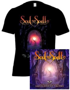 KIT CD + CAMISETA SOULSPELL ACT II