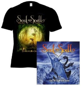 KIT CD + CAMISETA D&D SOULSPELL ACT IV