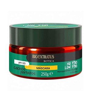 Máscara Bio Extratus Botica No Poo Low Poo Cachos Perfeitos 250g