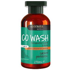 Bio Extratus Botica Co Wash Cachos Perfeitos - Condicionador de Limpeza 270ml