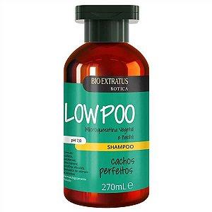 Shampoo Bio Extratus Botica Low Poo Cachos Perfeitos 270ml