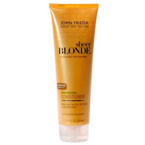 John Frieda Sheer Blonde Enhancing Conditioner Darker Blondes - Condicionador 250ml