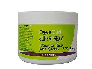 Modelador de Cachos Deva Curl SuperCream Creme de Coco 250g