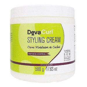 Finalizador Deva Curl  Styling Cream 500gr