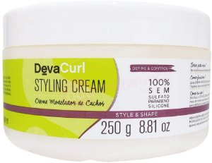 Modelador de Cachos Deva Curl Styling Cream 250gr