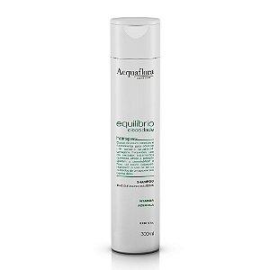 Shampoo Acquaflora Eq Oleosidade Raiz Oleosa E Pontas Secas 300ml