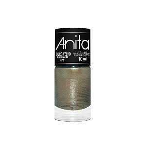 Esmalte Anita Metalizado 375 Ouro Velho - 10 ml
