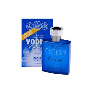 Vodka Diamond Eau De Toilette Paris Elysees - Perfume Masculino 100ml