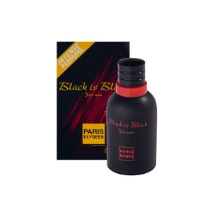Black is Black Eau De Toilette Paris Elysees - Perfume Masculino 100ml