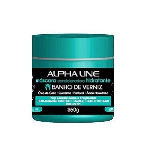 Máscara Banho de Verniz 350g- Alpha Line