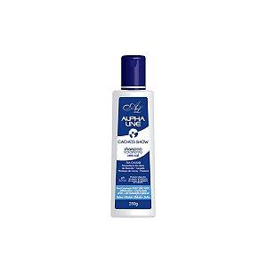 Shampoo Cachos Show Iogurte 250ml - Alpha Line