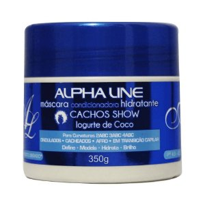 Máscara Cachos Show Iogurte 350g - Alpha Line