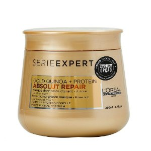 Máscara Loreal Professionnel Absolut Repair Gold Quinoa+Protein Light 250g