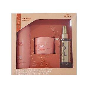 Kit Wella Professionals Invigo Nutri-enrich - Shampoo + Máscara + Oil Reflection