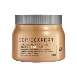 Máscara Loreal Professionnel Absolut Repair Gold Quinoa Protein 500g