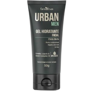 Gel Hidratante Facial Farmaervas Urban Men 50g