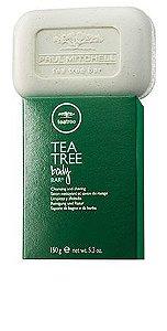 Body Bar Paul Mitchel Tea Tree Sabonete Banho e Barba 150g