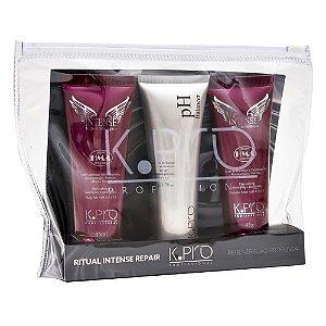 Kit Ritual Intense Repair KPro - Minis: Shampoo, pH Balancer, Condicionador