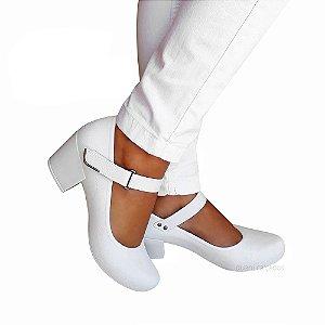 Sapato Boneca Branco Boaonda