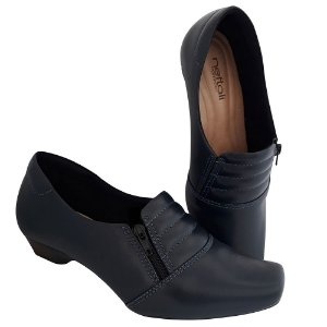 Sapato Feminino Azul Marinho Enfermagem Neftali Comfort