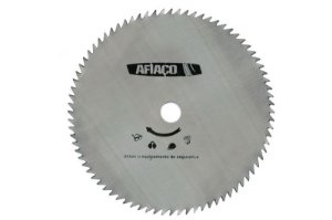 """Disco Afiaço Travado c/80 dentes 255 mm Furo de 1"""" 10.1/4"""