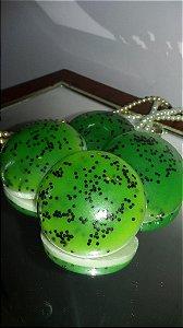 Sabonete Artesanal Mousse de Kiwi 45 g (10 unidades)