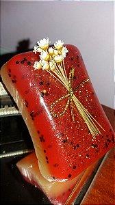 Sabonete Esfoliante Morango com Champagne