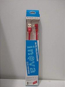 CABO USB INOVA  2.0A HIGH SPEED - IOS
