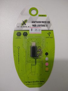 ADAPTADOR MICRO USB PARA LIGHTNING 8