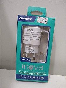 CARREGADOR RÁPIDO INOVA CAR -154A - IOS