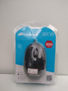 MOUSE OPTICAL  FORTREK OML101