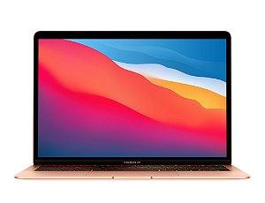 """Apple MacBook Air 13"""" 256GB SSD M1 2020 Dourado (MGN63LL/A)"""