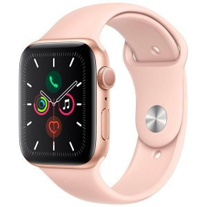 Apple Watch Series 5 44 mm MWVE2LL/A A2093 - Gold/Pink Sand - Novo Lacrado na caixa - 1 Ano de Garantia Apple.