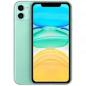 """Apple iPhone 11 64GB Liquid Retina de 6.1"""" 12MP/12MP iOS - Verde - Lacrado na caixa - 1 Ano de Garantia Apple."""