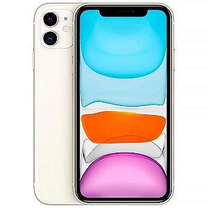 "Apple iPhone 11 128GB Liquid Retina de 6.1"" 12MP/12MP iOS - Branco - Lacrado na caixa - 1 Ano de Garantia Apple."