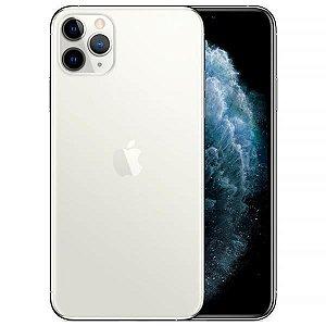 "Apple iPhone 11 Pro Max 256GB Super Retina OLED 6.5"" Tripla 12/12MP iOS - Prata (Branco) - Vovo Lacrado na caixa - 1 Ano de Garantia Apple."
