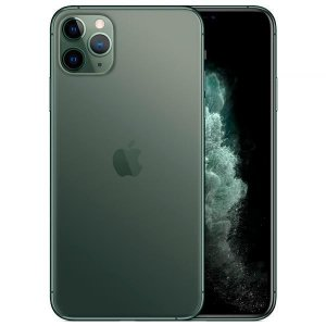 "Apple iPhone 11 Pro Max 256GB Super Retina OLED 6.5"" Tripla 12/12MP iOS - Verde - Novo Lacrado na caixa - 1 Ano de Garantia Apple."