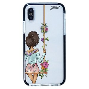 Capinha gocase para celular BFF - Floral (Direita) - IPhone X