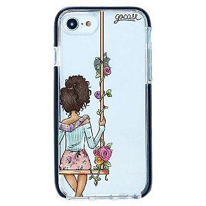 Capinha gocase para celular BFF - Floral (Direita) - IPhone 7/8