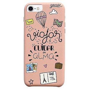 Capinha gocase para celular Cuidando da Alma - IPhone 7