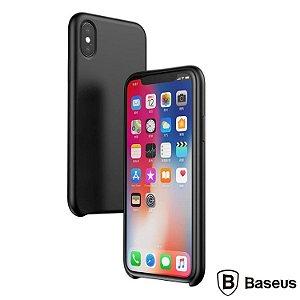 Capa Protetora LSR Original Baseus iPhone XS - Preto