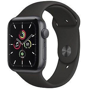 Apple Watch SE 44 mm A2352 MYDT2LL / A GPS - Space Grey / Black - Novo Lacrado na caixa - 1 Ano de Garantia Apple
