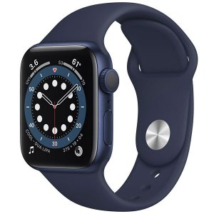 Apple Watch Series 6 40 mm A2291 MG143LL / A GPS - Blue Aluminum / Deep Navy - Original Lacrado na Caixa - 1 Ano de Garantia Apple