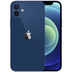 "Apple iPhone 12 A2172 128GB Super Retina XDR de 6.1"" Dual de 12MP / 12MP iOS - Azul - Original Lacrado na Caixa - 1 Ano de Garantia Apple"