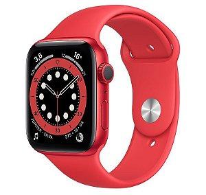 Apple Watch Series 6 44 mm A2291 MG123LL / A GPS - (Product) Red - Novo Lacrado na caixa - 1 Ano de Garantia Apple