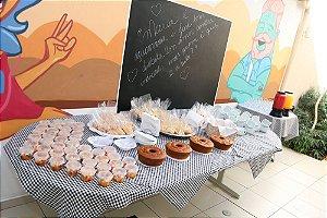 Café da Manhã, Café da Tarde, Brunch, Chá da Tarde, Buffet em Domicílio