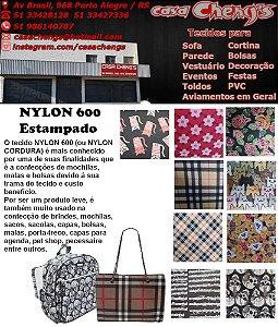NYLON 600 CORDURA ESTAMPADO