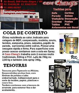 COLA DE CONTATO & TESOURAS