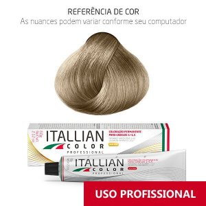 COLORAÇÃO ITALLIAN COLOR PROFESSIONAL 60G LOURO NÓRDICO UC2